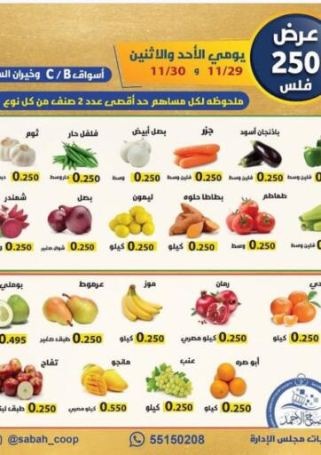Kuwait Sabah Al-Ahmad Cooperative Society offers in D4D Online. Fresh Savers. . Till 30th November