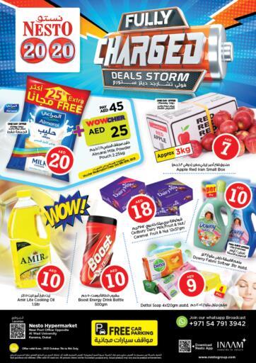 UAE - Sharjah / Ajman Nesto Hypermarket offers in D4D Online. Karama 2, Dubai. . Till 9th October