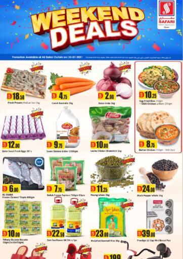 Qatar - Al-Shahaniya Safari Hypermarket offers in D4D Online. Weekend Deals. . Only On 22nd July