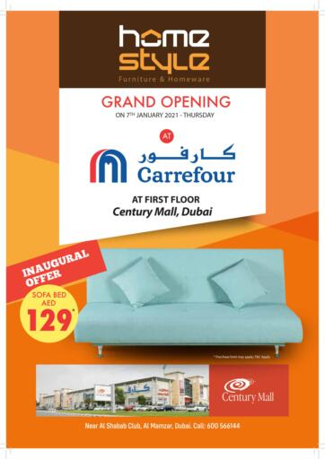 UAE - Ras al Khaimah Home Style Furniture & Homeware offers in D4D Online. Grand Opening. . Till 13th January