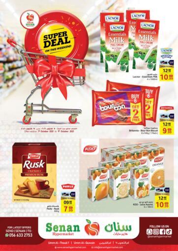 UAE - Sharjah / Ajman Senan Hypermarket offers in D4D Online. Super Deal On This Weekend. . Till 9th October