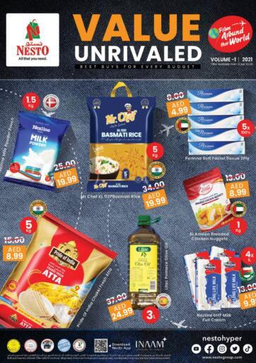 UAE - Sharjah / Ajman Nesto Hypermarket offers in D4D Online. Value Unrivaled. . Till 24th April