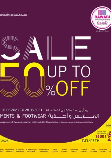 Qatar - Al-Shahaniya Rawabi Hypermarkets offers in D4D Online. Sale Up To 50% Off. . Till 28th June