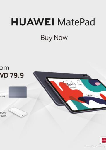 Kuwait Best Al Yousifi  offers in D4D Online. Huawei Matepad. . Until Stock Lasts