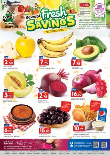 Qatar - Al-Shahaniya Rawabi Hypermarkets offers in D4D Online. Fresh Savings. . Till 2nd July