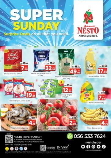 UAE - Sharjah / Ajman Nesto Hypermarket offers in D4D Online. Muweilah, Sharjah. . Only On 18th April