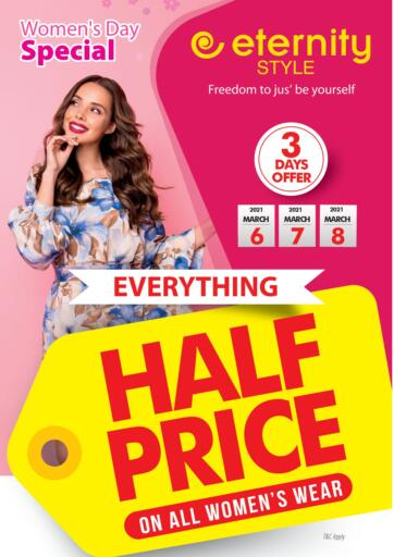 UAE - Abu Dhabi Safeer Hyper Markets offers in D4D Online. Women's Day Special. . Till 8th March