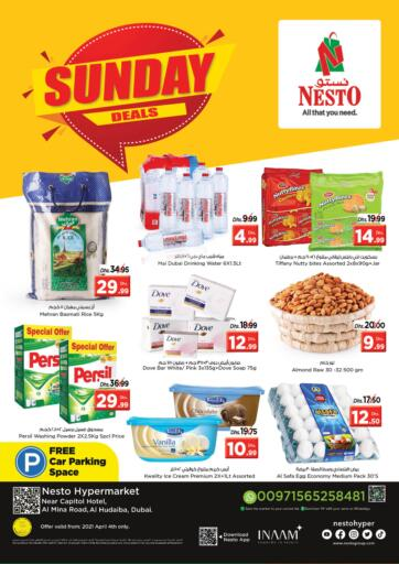 UAE - Dubai Nesto Hypermarket offers in D4D Online. Al Hudaiba, Dubai. . Only On 04th April