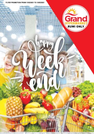 Oman - Muscat Grand Hyper Market  offers in D4D Online. Happy Weekend @ Ruwi. . Till 13th February