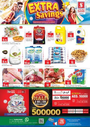UAE - Sharjah / Ajman Safari Hypermarket  offers in D4D Online. Extra savings. . Till 31st August