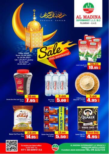 UAE - Fujairah Al Madina Supermarket LLC offers in D4D Online. Hot Sale. . Till 24th April