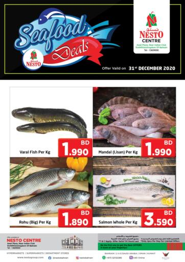 Bahrain NESTO  offers in D4D Online. Seafood Deals. . Only On 31st December