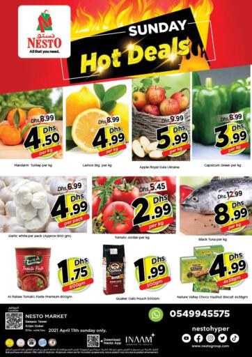 UAE - Dubai Nesto Hypermarket offers in D4D Online. Arjan - Dubai. . Only On 11th April