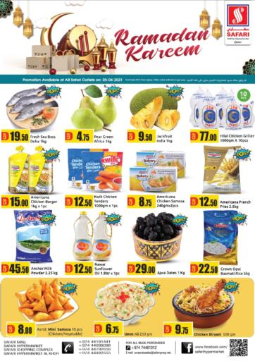 Qatar - Al Shamal Safari Hypermarket offers in D4D Online. Ramadan Kareem. . Only On 05th April