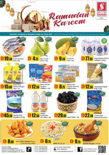 Qatar - Al Daayen Safari Hypermarket offers in D4D Online. Ramadan Kareem. . Only On 05th April