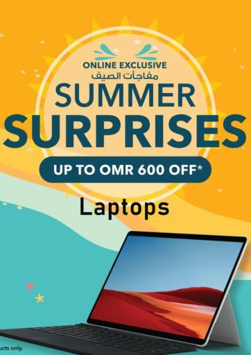 Oman - Sohar Sharaf DG  offers in D4D Online. Summer Surprises - Laptops. . Until Stock Last