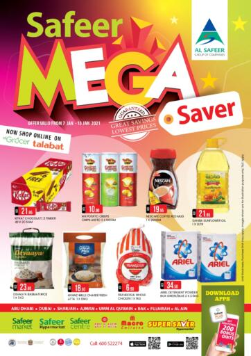 UAE - Ras al Khaimah Safeer Hyper Markets offers in D4D Online. Mega Saver.
