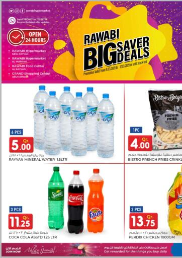 Qatar - Doha Rawabi Hypermarkets offers in D4D Online. Big Saver Deals. Big Saver Deals  Offers  Are Available At Rawabi Hypermarkets.Offers Are Valid Till 17th March.   Enjoy! . Till 17th March