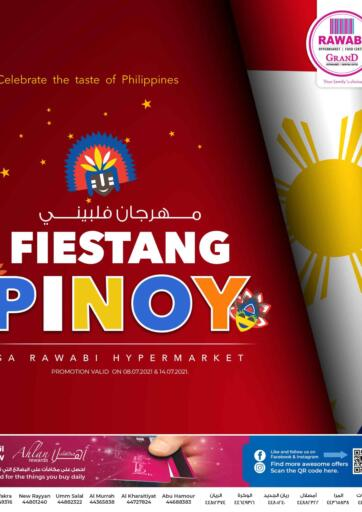 Qatar - Al-Shahaniya Rawabi Hypermarkets offers in D4D Online. Fiestang Pinoy.  Fiestang Pinoy Offers  Are Available At Rawabi Hypermarkets. Offers Are Valid  Till 14th July.   Enjoy!  . Till 14th July