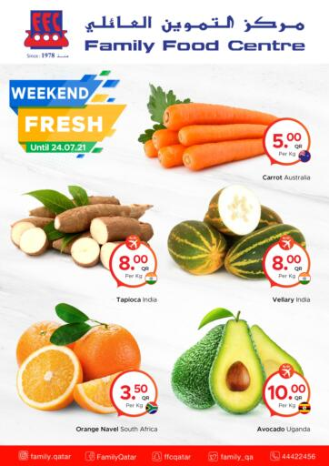 Qatar - Al-Shahaniya Family Food Centre offers in D4D Online. Weekend Fresh at Family Food Centre. . Till 24th July