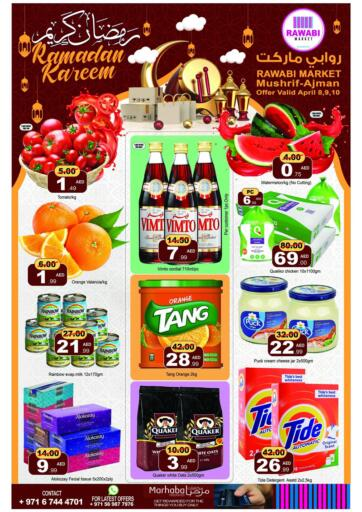 UAE - Sharjah / Ajman Rawabi Market Ajman offers in D4D Online. Mushrif, Ajman. . Till 10th April