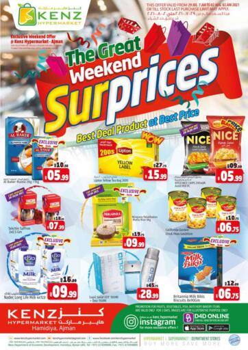 UAE - Sharjah / Ajman Kenz Hypermarket offers in D4D Online. The Great Weekend Surprices. The Great Weekend SurpricesNow Available At Kenz Hypermarket. Rush Now And Get Everything At Best Price. Offer Valid Till 01st August 2021.  Enjoy Shopping!!!. Till 1st August