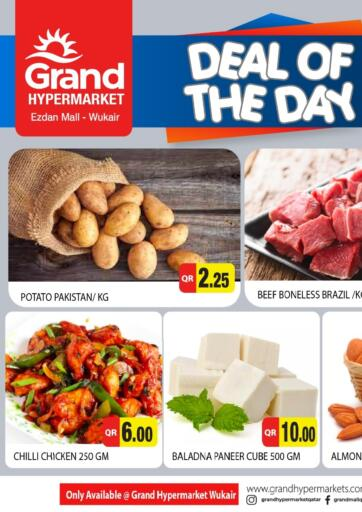 Qatar - Al-Shahaniya Grand Hypermarket offers in D4D Online. Deal Of The Day. . Only On 01st August