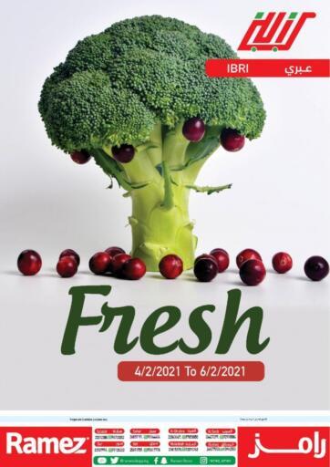 Oman - Sohar Ramez  offers in D4D Online. Ibri - Weekend Fresh Deals. . Till 6th February