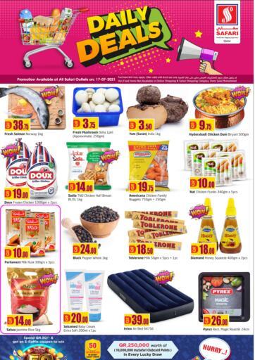 Qatar - Al-Shahaniya Safari Hypermarket offers in D4D Online. Daily Deals. . Only On 17th July