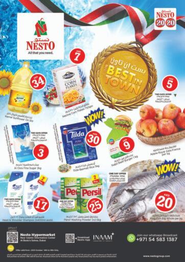 UAE - Sharjah / Ajman Nesto Hypermarket offers in D4D Online. Al Bada'a, Satwa ,Dubai. . Till 16th October