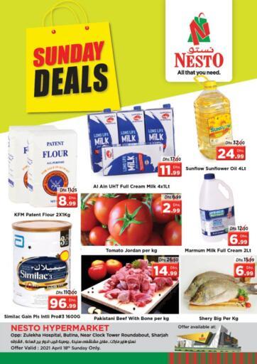 UAE - Sharjah / Ajman Nesto Hypermarket offers in D4D Online. Butina, Sharjah. . Only On 18th April