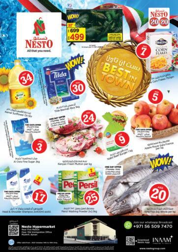 UAE - Fujairah Nesto Hypermarket offers in D4D Online. Mushrif, Ajman. . Till 16th October