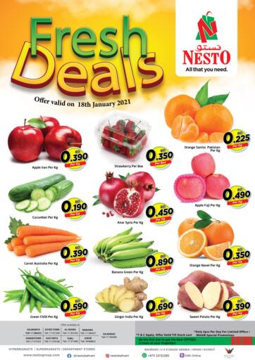 Bahrain NESTO  offers in D4D Online. Fresh Deals. . On 18th January