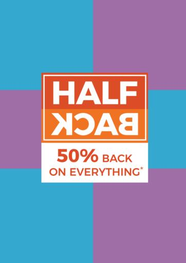 Bahrain Home Store offers in D4D Online. Half Back 50% Back On Everything. . Till 1st February