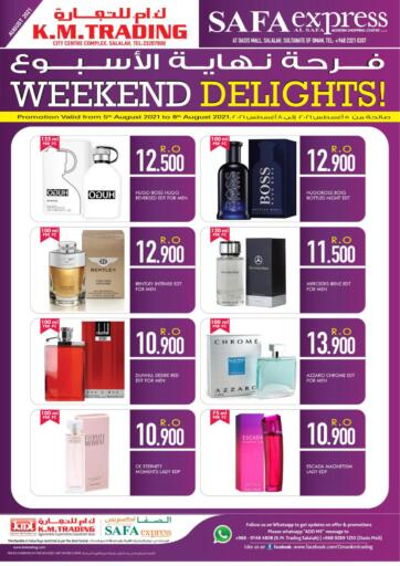 Oman - Salalah KM Trading  offers in D4D Online. Weekend Delights. . Till 8th August