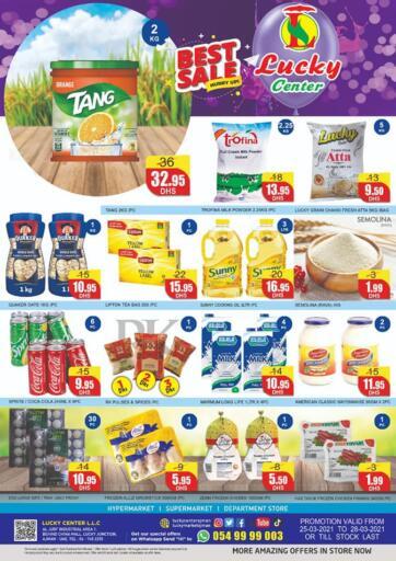 UAE - Sharjah / Ajman Lucky Center offers in D4D Online. Best Sale. . Till 28th March