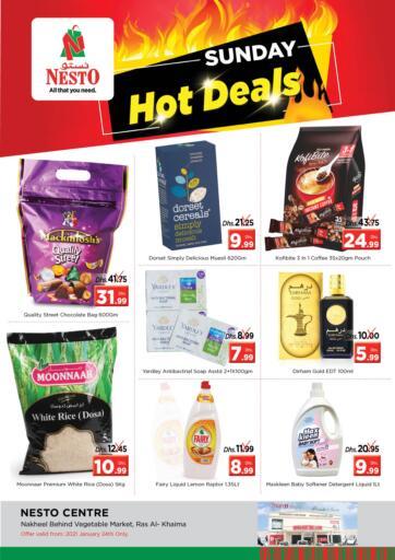 UAE - Ras al Khaimah Nesto Hypermarket offers in D4D Online. Ras Al Khaima. . Only on 24th January