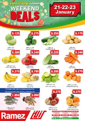 Bahrain Ramez offers in D4D Online. Weekend Deals. . Till 23rd January