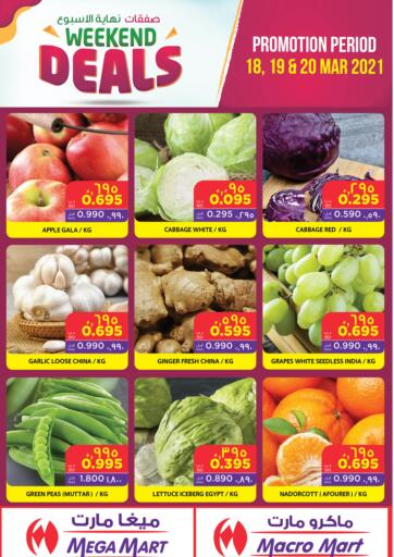 Bahrain MegaMart & Macro Mart  offers in D4D Online. Weekend Deals. . Till 20th March