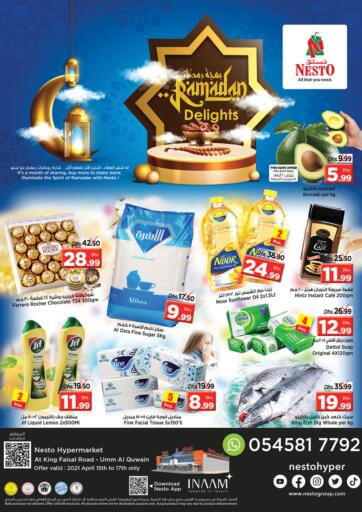 UAE - Umm al Quwain Nesto Hypermarket offers in D4D Online. King Faisal, Umm Al Quwain. . Till 17th April