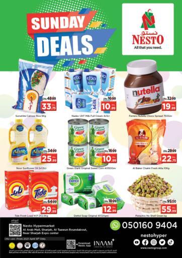 UAE - Sharjah / Ajman Nesto Hypermarket offers in D4D Online. Arab Mall, Sharjah. . Only On 18th April