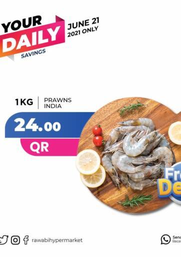 Qatar - Al-Shahaniya Rawabi Hypermarkets offers in D4D Online. Fresh Deals. . Only On 21st June