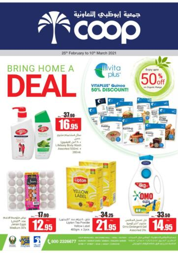 UAE - Al Ain Abu Dhabi COOP offers in D4D Online. Bring Home A Deal. . Till 10th March