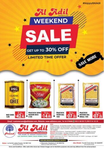 UAE - Abu Dhabi Al Adil Trading offers in D4D Online. Weekend Sale. . Till 10th February