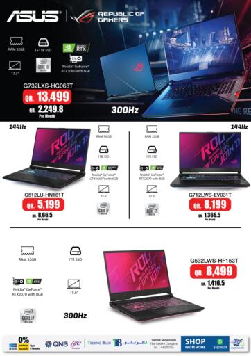 Qatar - Al-Shahaniya Techno Blue offers in D4D Online. World of gaming laptops. Now its time to shop from Techno Blue. Get World of gaming laptops offers and get your products at great discounts. Offers valid Till 20th March.   Hurry Up!!!!!. Till 20th March