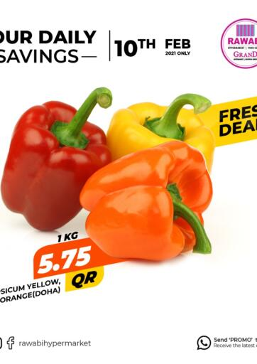 Qatar - Al Wakra Rawabi Hypermarkets offers in D4D Online. Your Daily Savings. . Only On 10th February