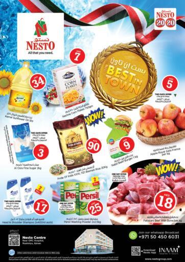 UAE - Fujairah Nesto Hypermarket offers in D4D Online. Nuaimiya - Ajman. . Till 16th October