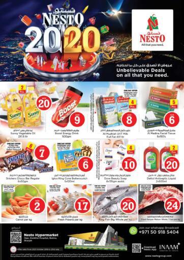 UAE - Sharjah / Ajman Nesto Hypermarket offers in D4D Online. Butina sharjah. . Till 23rd October