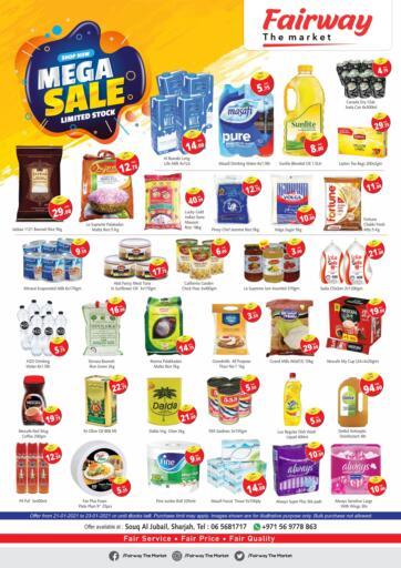 UAE - Sharjah / Ajman Fairway The Market offers in D4D Online. Souq Al Jubail - Mega Sale. . Till 23rd January