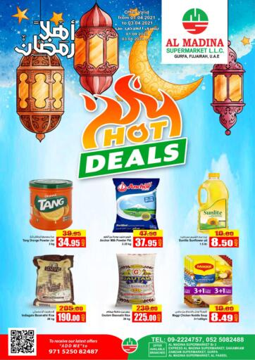 UAE - Fujairah Al Madina Supermarket LLC offers in D4D Online. Hot Deals. . Until Stock Last